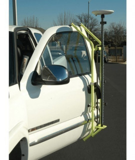 Support de canne GPS pour porte de voiture, Vente de canne, Leica, Topographie-lepont.fr