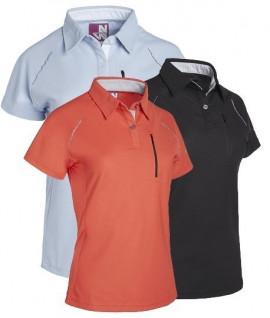 Polo en maille ajourée pour femme NorthWays - Lepont Equipements