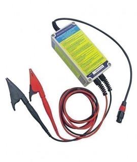 Connecteur de cable sous tension pour 10TX avec pinces croco, Topographie-lepont.fr